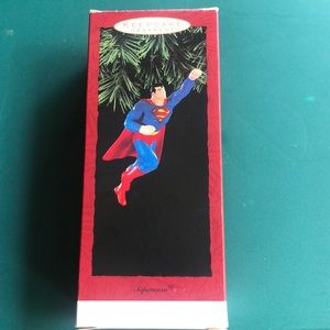 Superman Hallmark Keepsake ornament